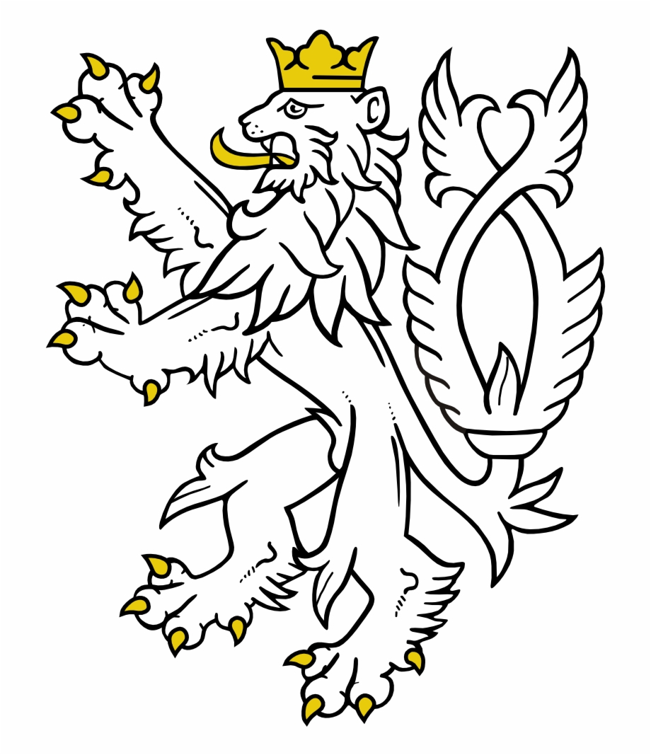 Game of thornes lion clipart graphic freeuse Game Of Thrones Lion Clipart - Czech Republic Lion, Transparent Png ... graphic freeuse