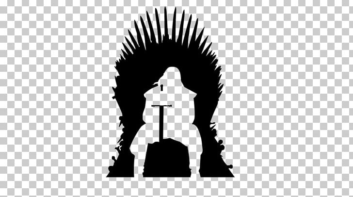 Game of thrones clipart black and white vector royalty free download Game Of Thrones Silhouette Iron Throne Eddard Stark PNG, Clipart ... vector royalty free download