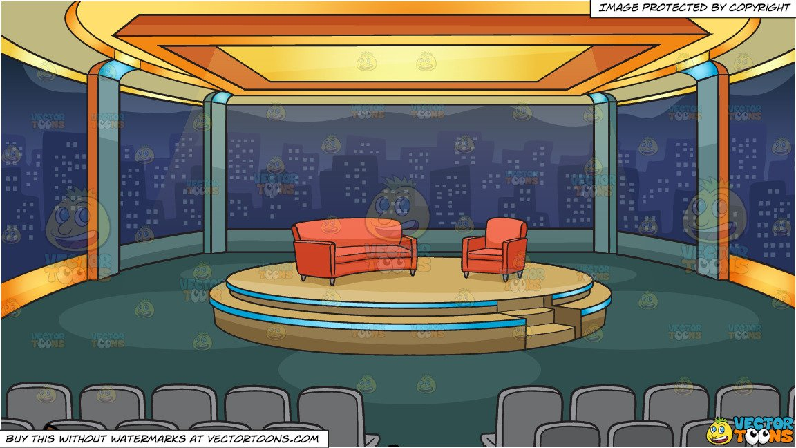 Game show stand clipart png transparent stock A Man Getting Ready To Do A Supported Shoulder Stand Yoga Pose and A Talk  Show Studio Background png transparent stock