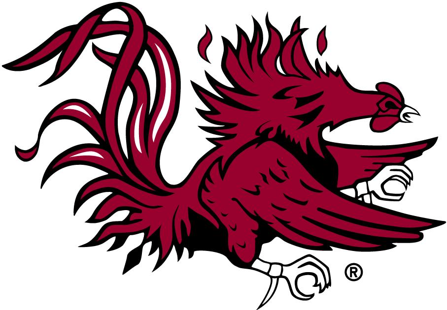 Gamecock logo clipart