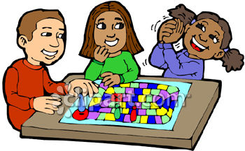 Kids playing games clipart clip art library library Board Games Clipart #1 | Clipart Panda - Free Clipart Images clip art library library