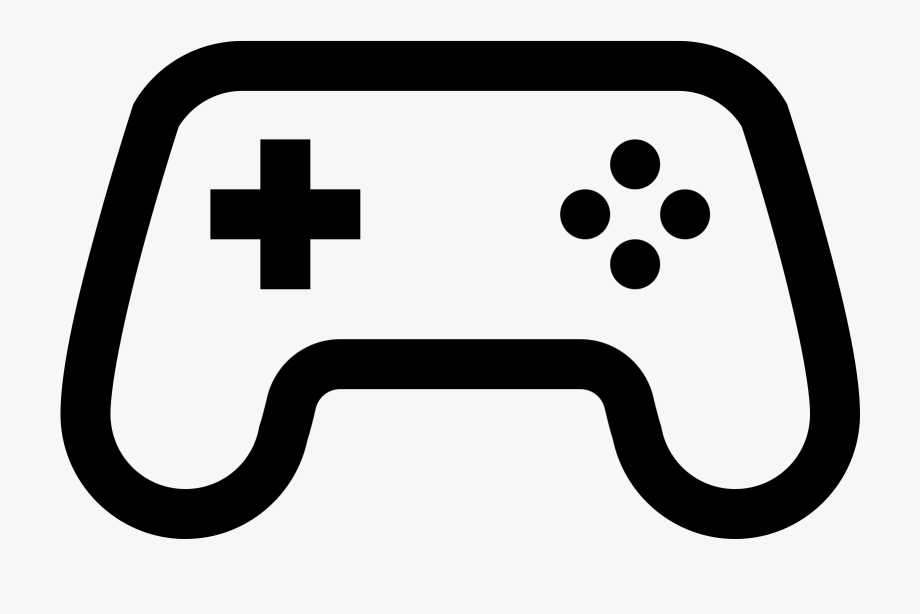 Gaming clipart clipart black and white download Controller Clipart Gaming - Gaming Controller Clipart Png #258233 ... clipart black and white download