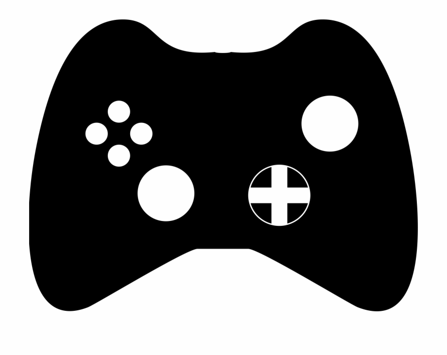 Gaming clipart clipart black and white download Gaming Clipart Ps Controller - Game Controller, Transparent Png ... clipart black and white download