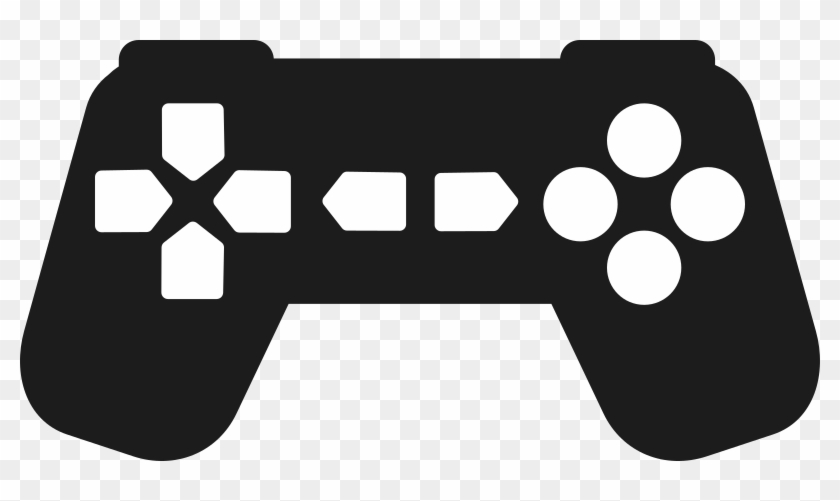 Video game controller silhouette clipart graphic transparent download Video Game Clipart Silhouette - Gaming Controller Clipart Png ... graphic transparent download