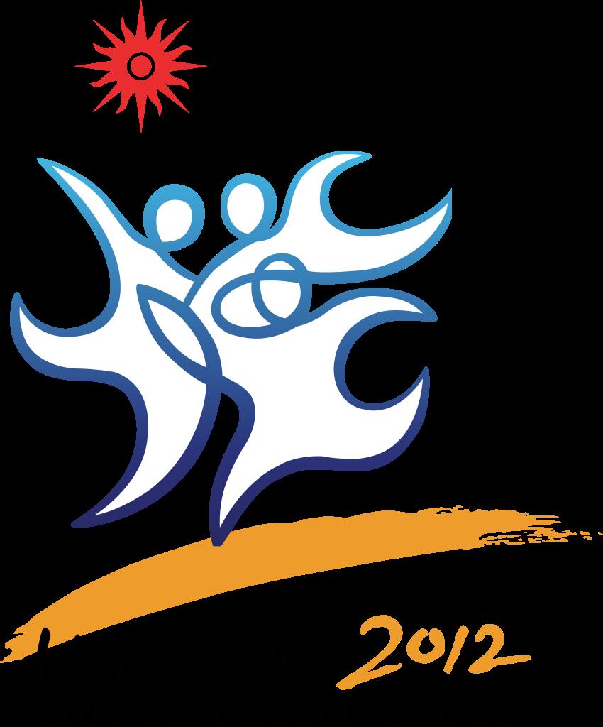 Gaming logo svg clipart png transparent File:2012 Asian Beach Games logo.svg - Wikipedia png transparent