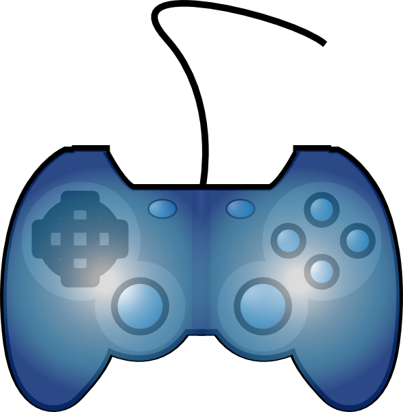 Gaming logo svg clipart clipart transparent library Joypad Game Controller Clip Art at Clker.com - vector clip art ... clipart transparent library
