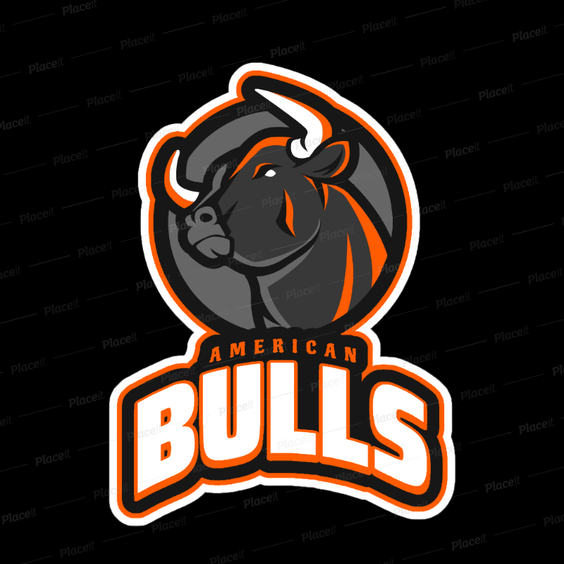 Gaming logos clipart graphic transparent download Gaming Logo Template Featuring a Bull Clipart 21m - 2339 graphic transparent download