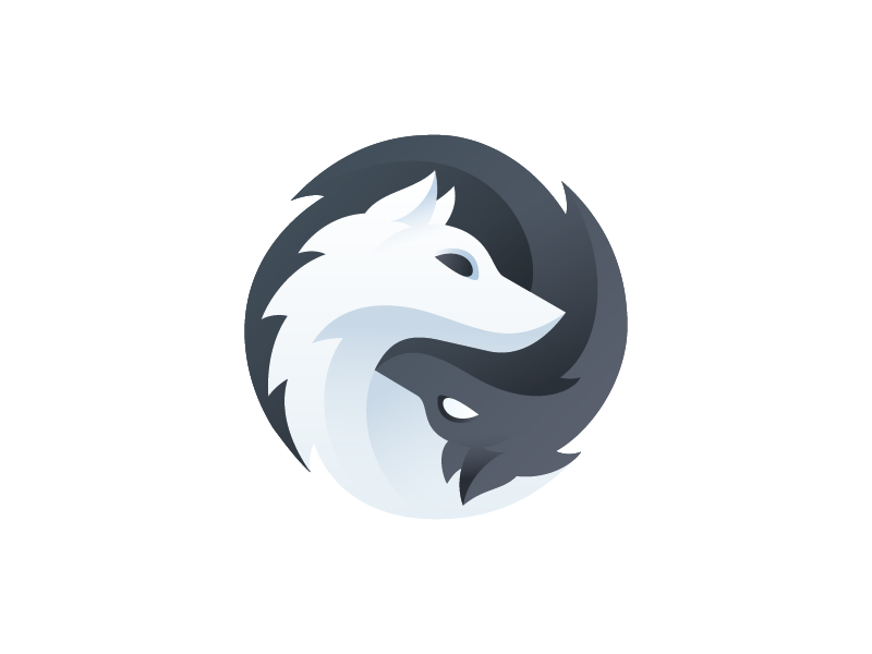 Gaming logos clipart picture free library Gray Wolf Games - Logo | I Like It | Game logo design, Animal logo ... picture free library