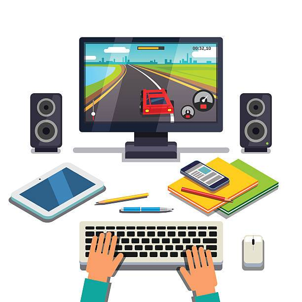 Gaming pc clipart vector library library Gaming pc clipart 3 » Clipart Portal vector library library