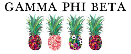 Gamma phi beta clipart banner free download Gamma Phi Beta banner free download