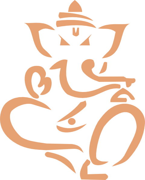 Ganesha clipart vector svg free Ganesha art   Ganesha clip art - vector clip art online, royalty ... svg free