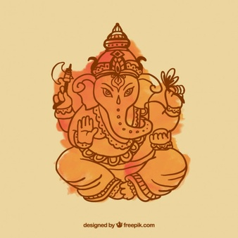 Ganesha clipart vector svg free stock Ganesh Vectors, Photos and PSD files   Free Download svg free stock