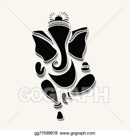 Ganesha clipart vector clipart freeuse library Vector Art - Ganesha or ganesh. Clipart Drawing gg77599678 - GoGraph clipart freeuse library