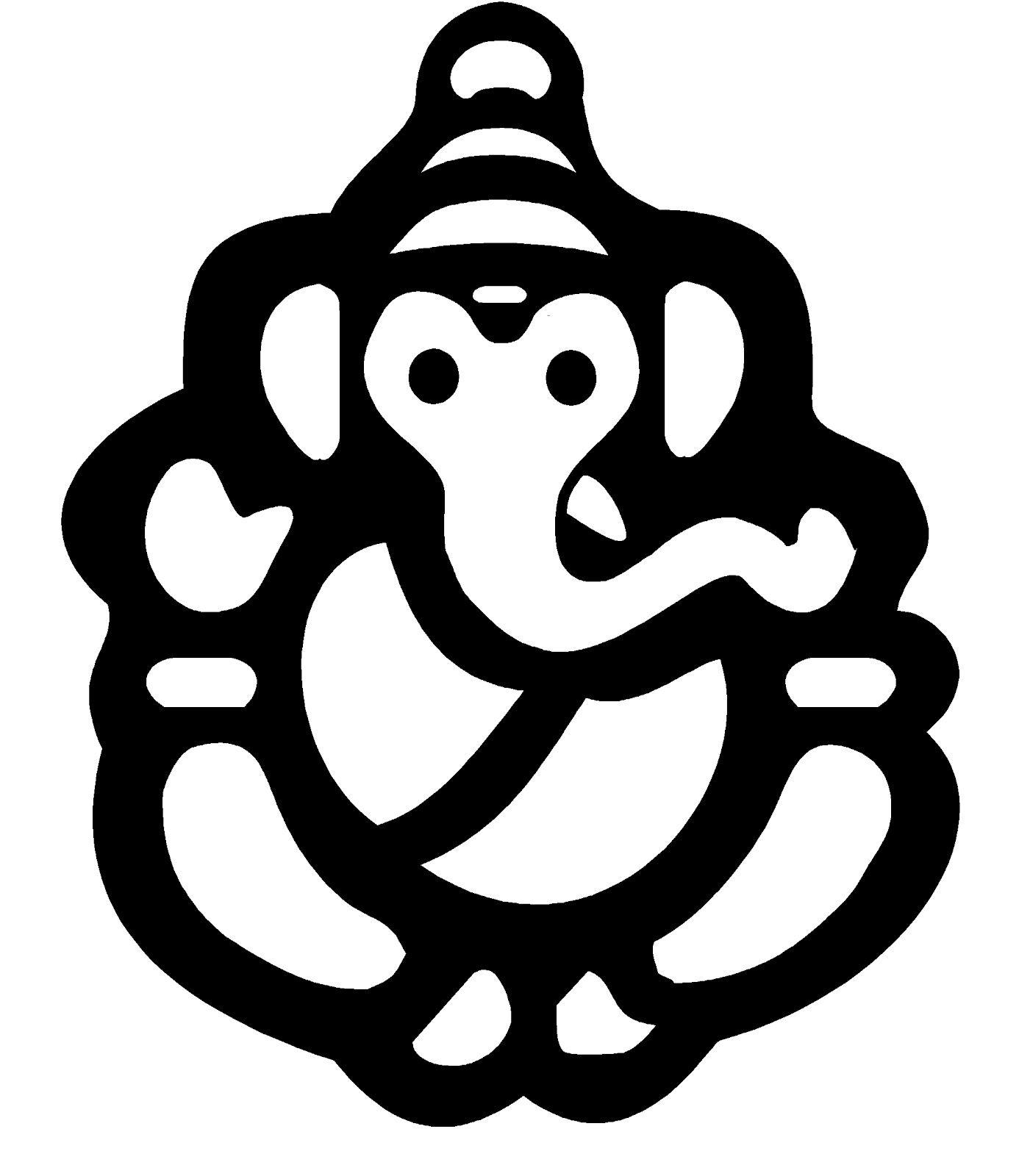 Ganpati clipart file image freeuse Ganesh Vector - ClipArt Best | just in 2019 | Ganesh images, Ganesh ... image freeuse