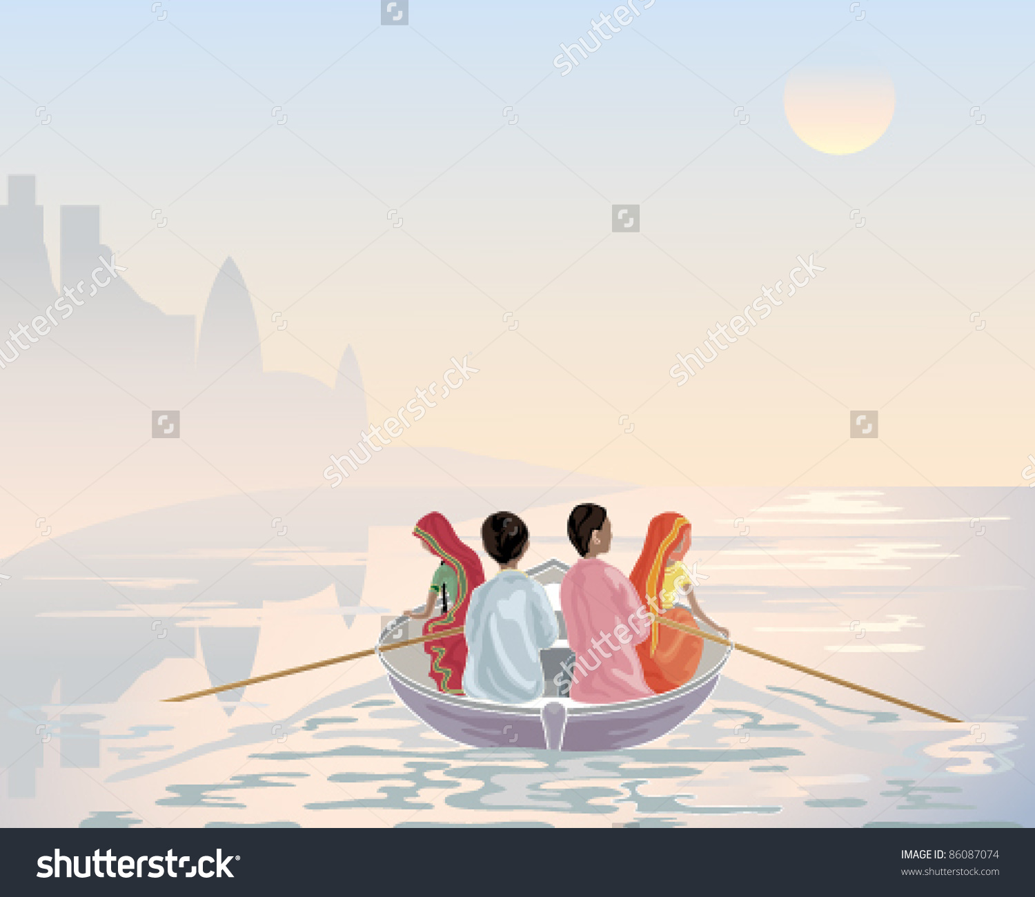 Ganga river clipart vector library library Ganga river clipart - ClipartFest vector library library