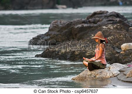 Ganga river clipart png library library Stock Photos of spiritual ganga river - a top view of the ganga ... png library library