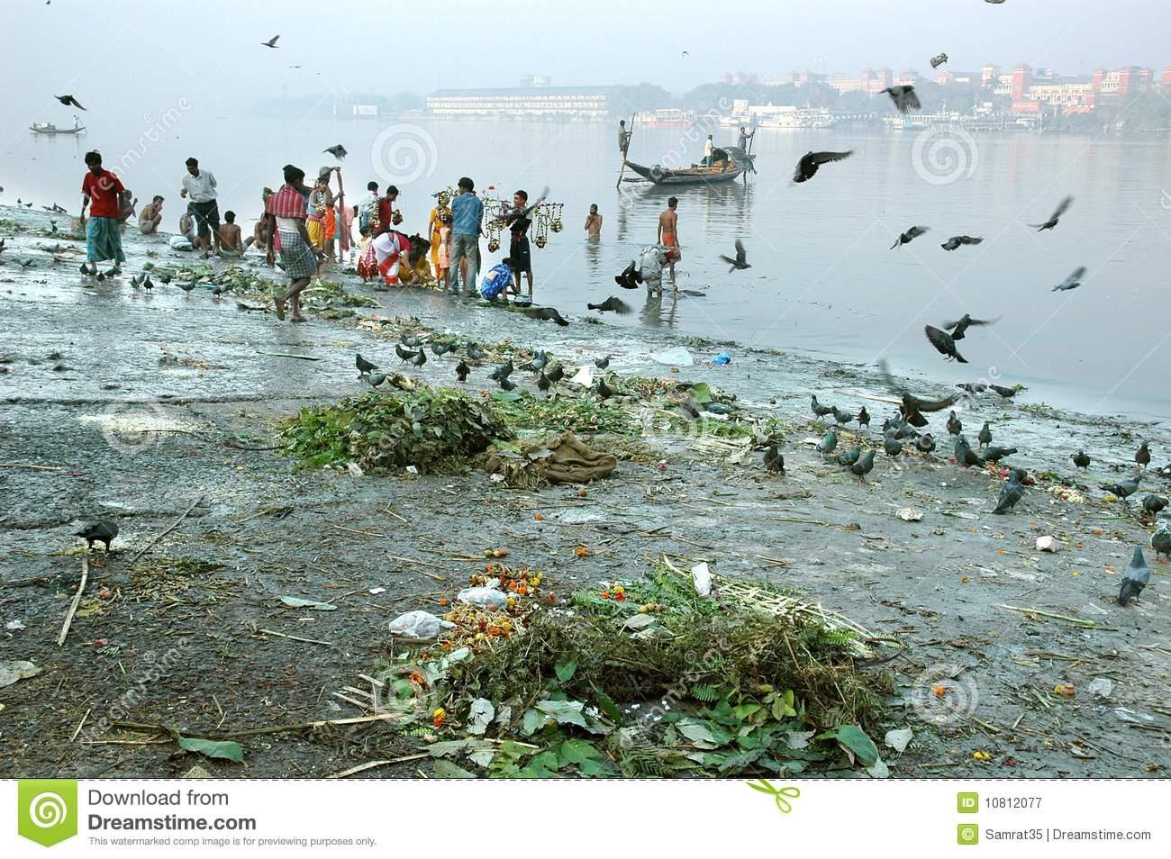 Ganga river clipart jpg free Ganga River Kolkata Stock Photos, Images, & Pictures - 362 Images jpg free