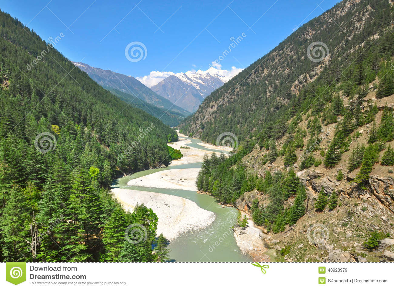 Ganga river clipart image black and white library Meandering Holy Ganga River Stock Photo - Image: 40923979 image black and white library