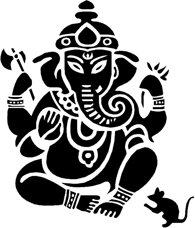 Ganpati clipart file clip art black and white library Download Free png Lord Ganesha PNG Clipart | PNG All - DLPNG.com clip art black and white library