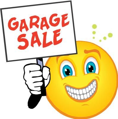 Garage sale clipart free clipart black and white library Garage sale free yard sale clip art clipart 3   Helene and Frank ... clipart black and white library