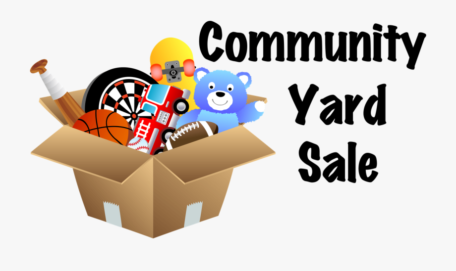 Yard sale cliparts banner Join Us For Our 2019 Haiti Mission Yard Sale Items - Community ... banner