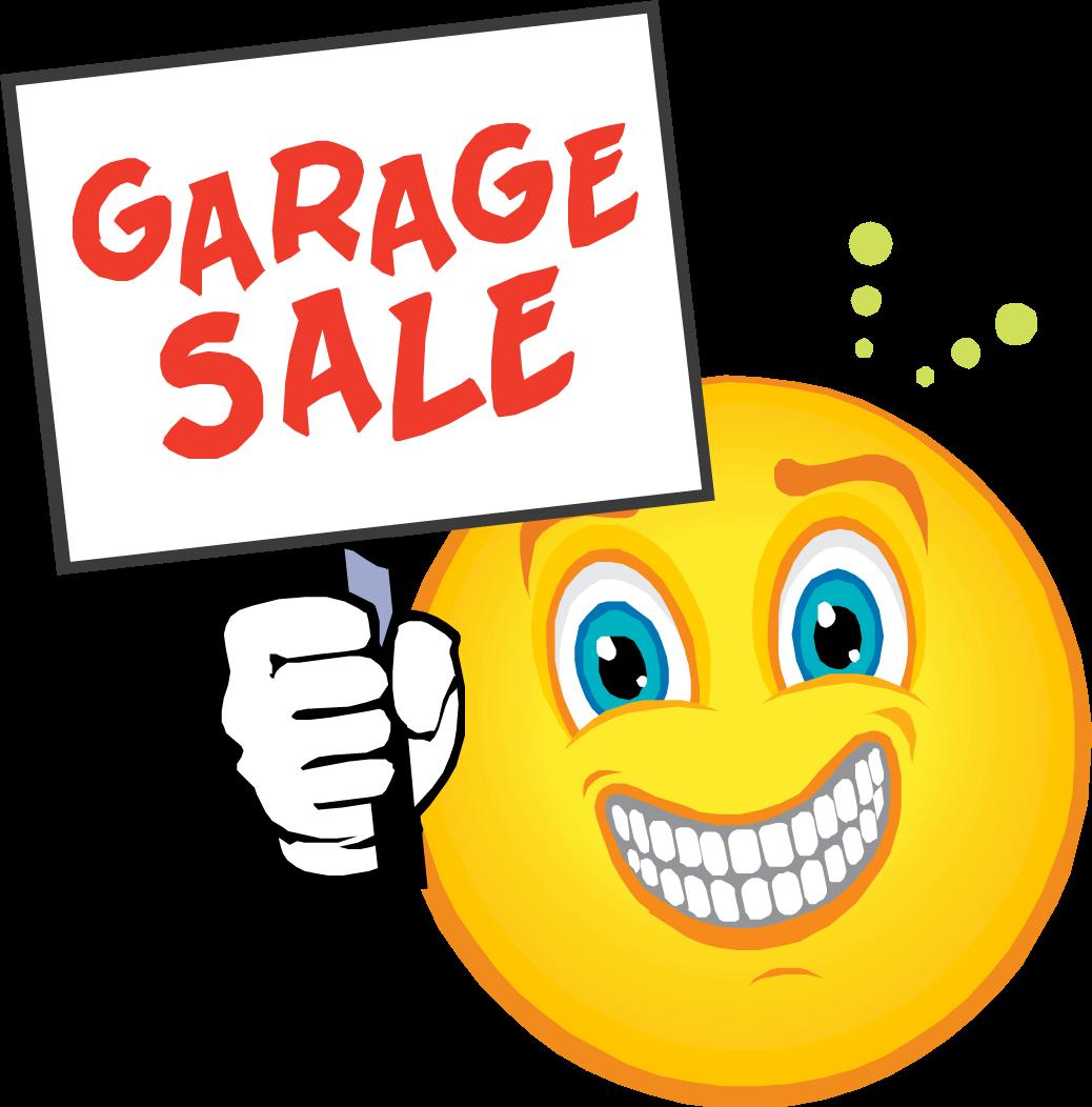 Clipart for garage sale png transparent download GARAGE SALE SIGN IMAGES | Garage-Sale-Smiley | Stuff to Buy | Garage ... png transparent download
