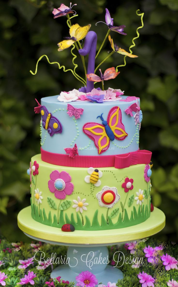 Garden birthday cake clipart clipart royalty free 15 Must-see Garden Theme Cake Pins | Garden birthday cake, Garden ... clipart royalty free