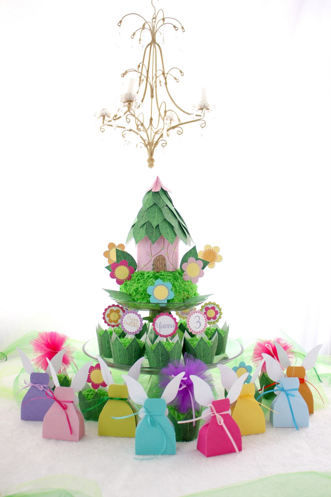 Garden birthday cake clipart vector library library The Everyday Posh: Fairy Princess Garden Party! Happy Birthday Yanna! vector library library