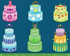 Garden birthday cake clipart image royalty free stock Sports Clipart Football Baseball Lacrosse Basketball Hockey ... image royalty free stock
