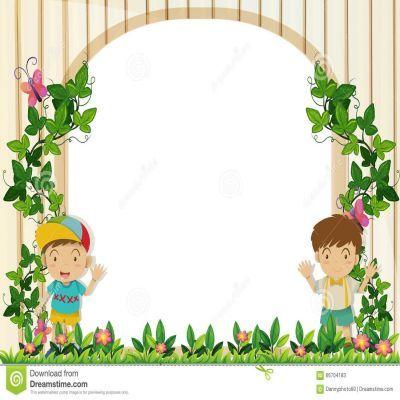 Garden border clipart image stock Garden Border Design Clipart | Inspiration | Border design, Design ... image stock
