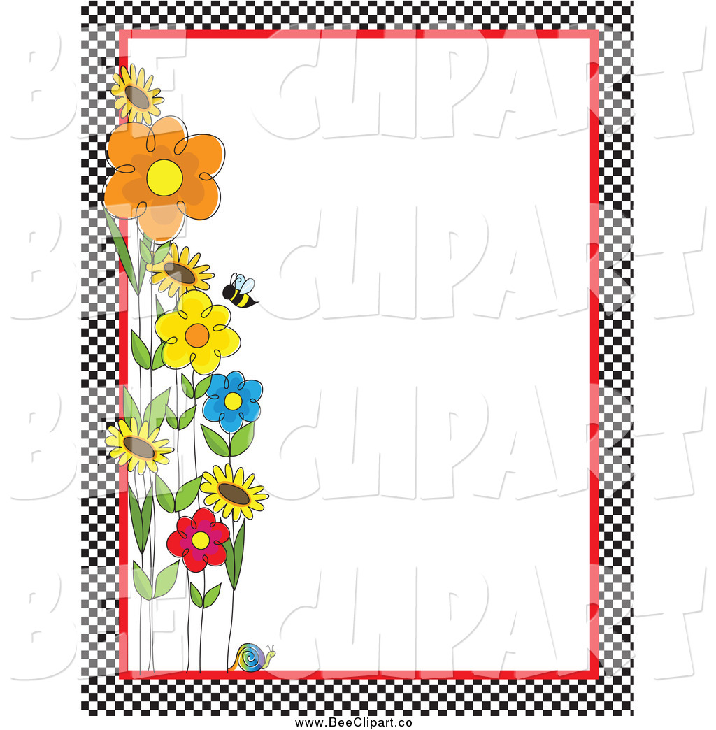 Summertime clipart borders graphic free download Garden Clipart Border   Free download best Garden Clipart Border on ... graphic free download