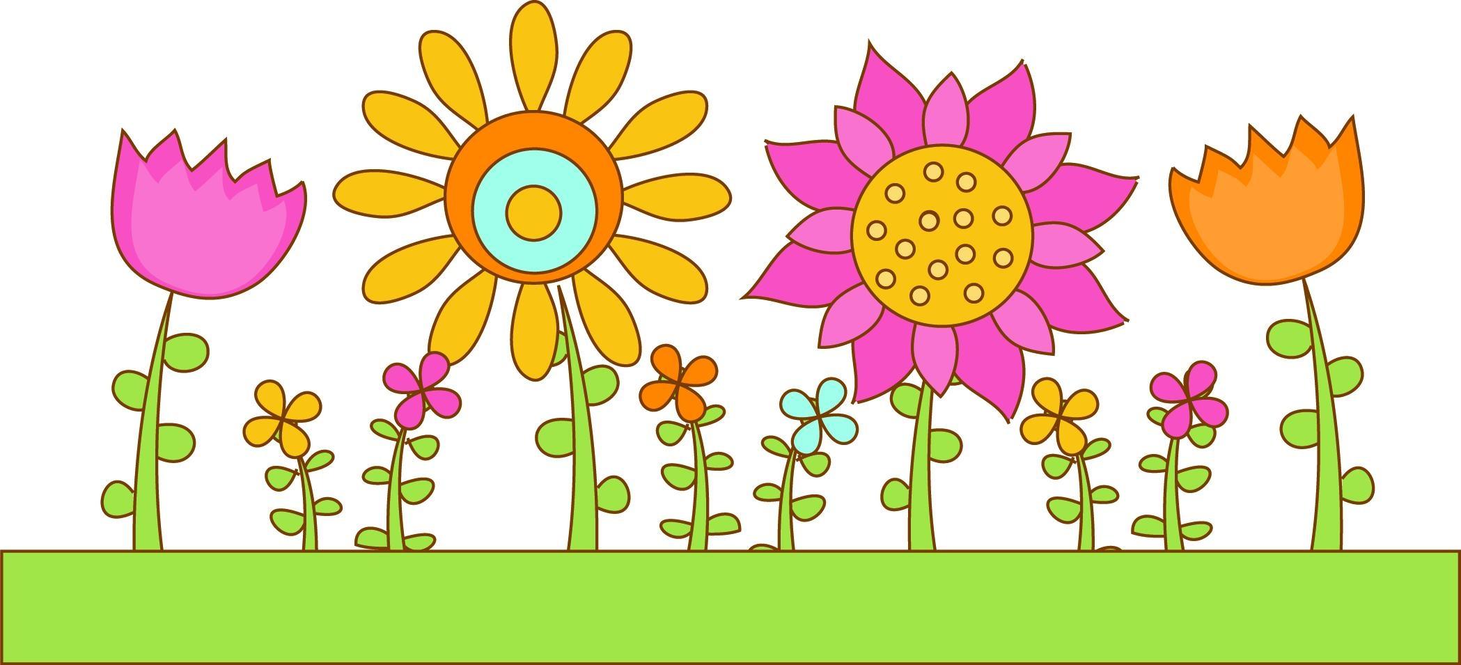 Garden hd clipart vector freeuse Flower garden border clip art Beautiful HD Flower Garden Clip Art ... vector freeuse