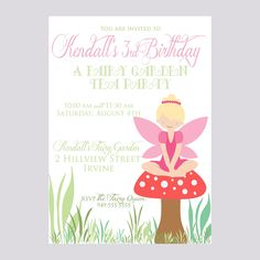 Garden fairy 1st birthday clipart image royalty free download invitation wording | Imke 3rd Birthday ideas - Fairies | Pinterest ... image royalty free download