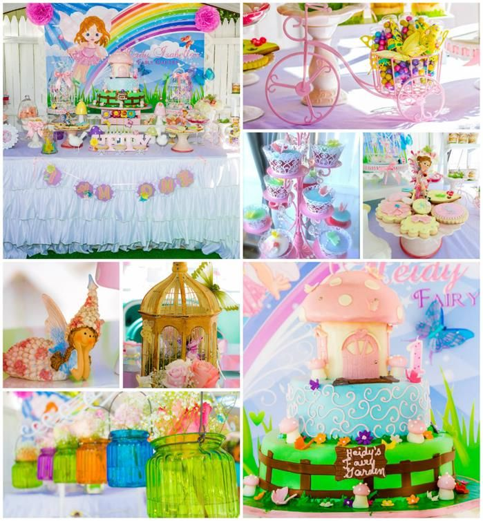 Garden fairy 1st birthday clipart banner royalty free stock 17 Best images about Baby Birthday Party - Fairy on Pinterest ... banner royalty free stock