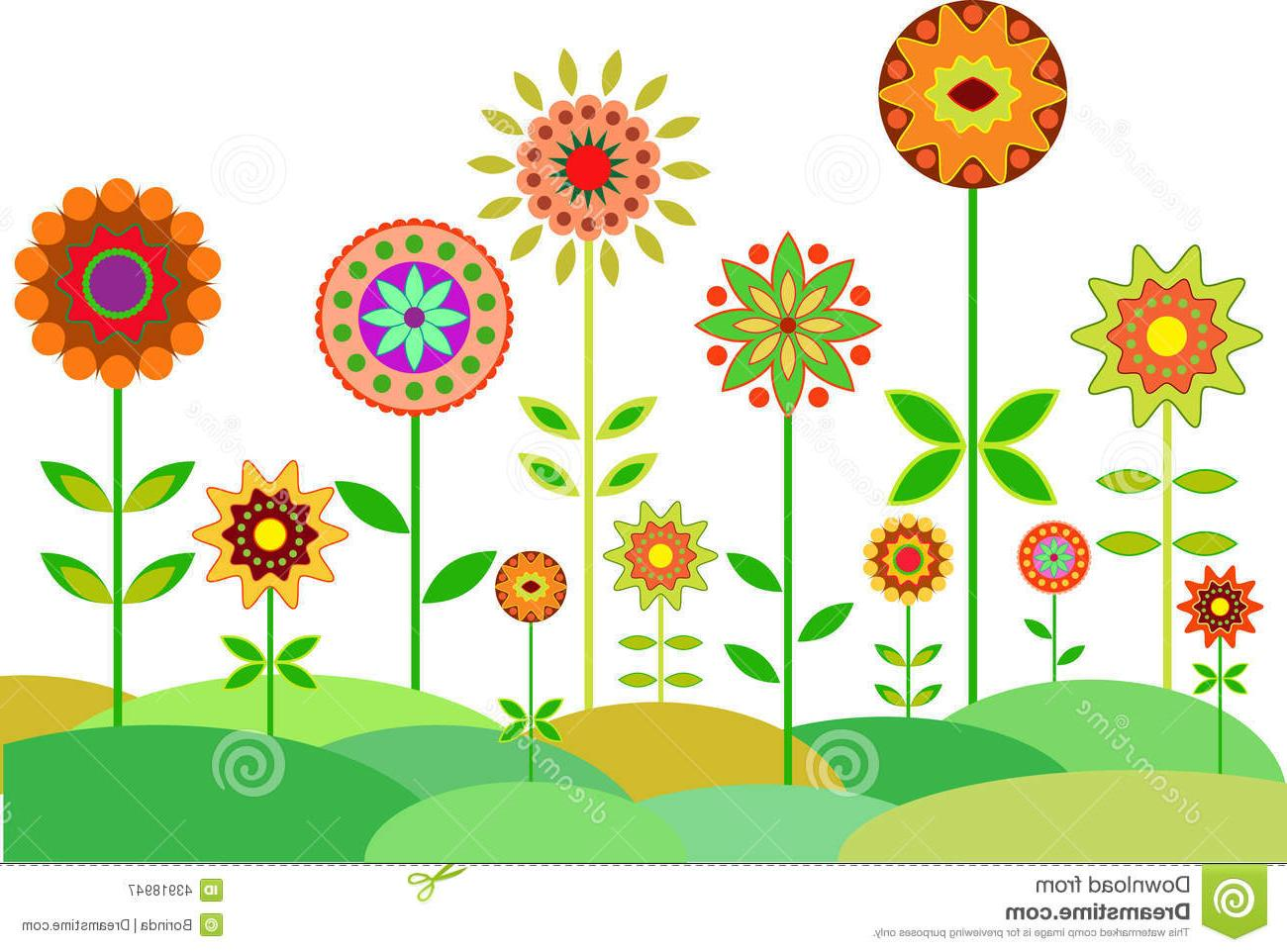 Garden hd clipart image download HD Flower Garden Clip Art Black And White Vector Library » Free ... image download