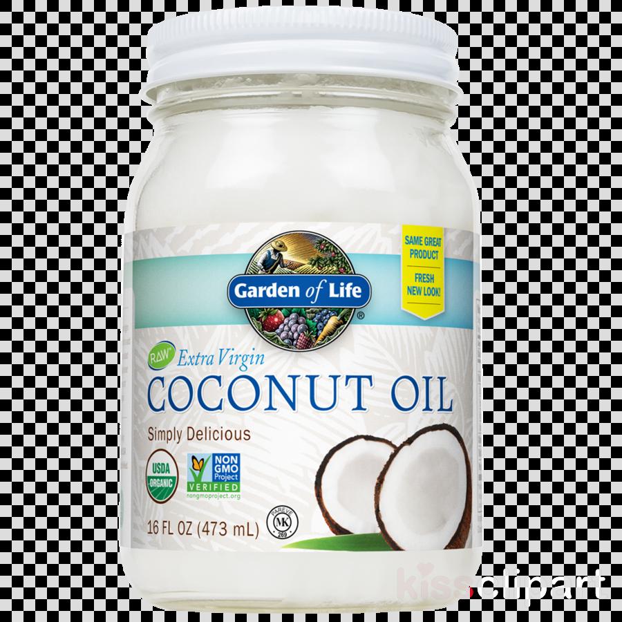 Garden of life clipart clip black and white stock Download garden of life coconut oil 7.1 oz clipart Organic food ... clip black and white stock