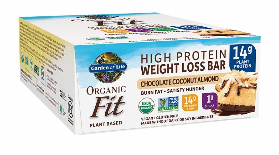 Garden of life clipart clipart stock Garden Of Life Organic Fit Bar, Chocolate Coconut Almond, - Garden ... clipart stock