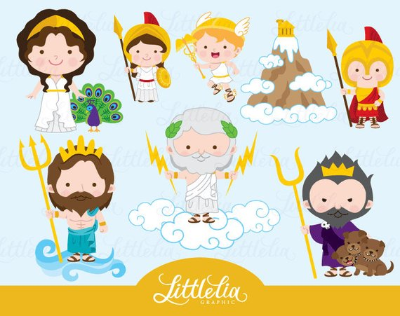 Greek god cliparts graphic transparent library Greek gods clipart - mythology clipart - 17039 | Products in 2019 ... graphic transparent library