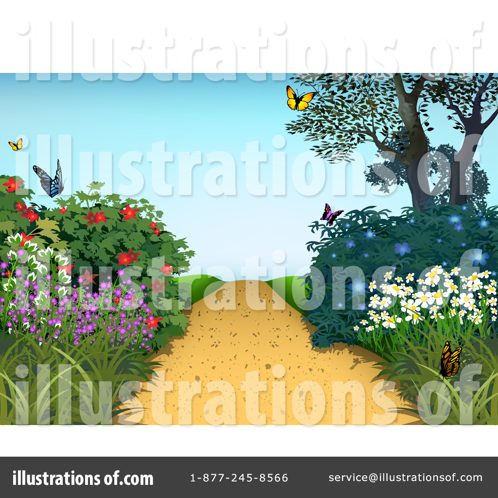 Garden path clipart jpg free download Path Clipart #1184047 - Illustration by dero jpg free download
