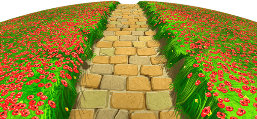 Garden path clipart png download Download Free Png Download Stone Path With Flowers Ground Png ... png download