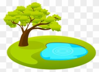 Garden pond clipart jpg free stock Pond Clipart Garden Theme - Clip Art Pond - Png Download (#121869 ... jpg free stock