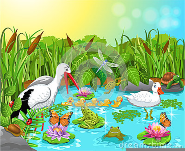 Garden pond clipart clipart royalty free Free Garden Clipart Pond | Free Images at Clker.com - vector clip ... clipart royalty free