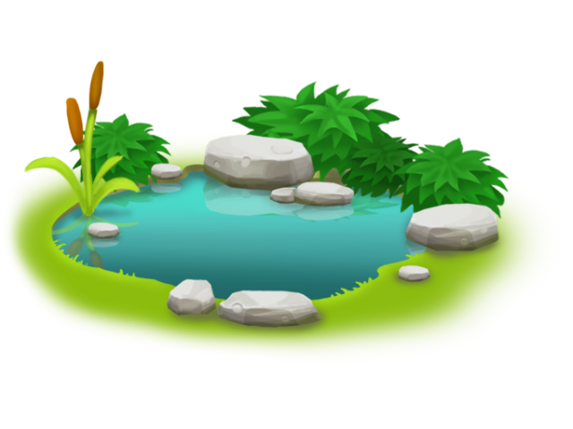 Garden pond clipart picture free download Free collection of Pond clipart small pond. Download transparent ... picture free download