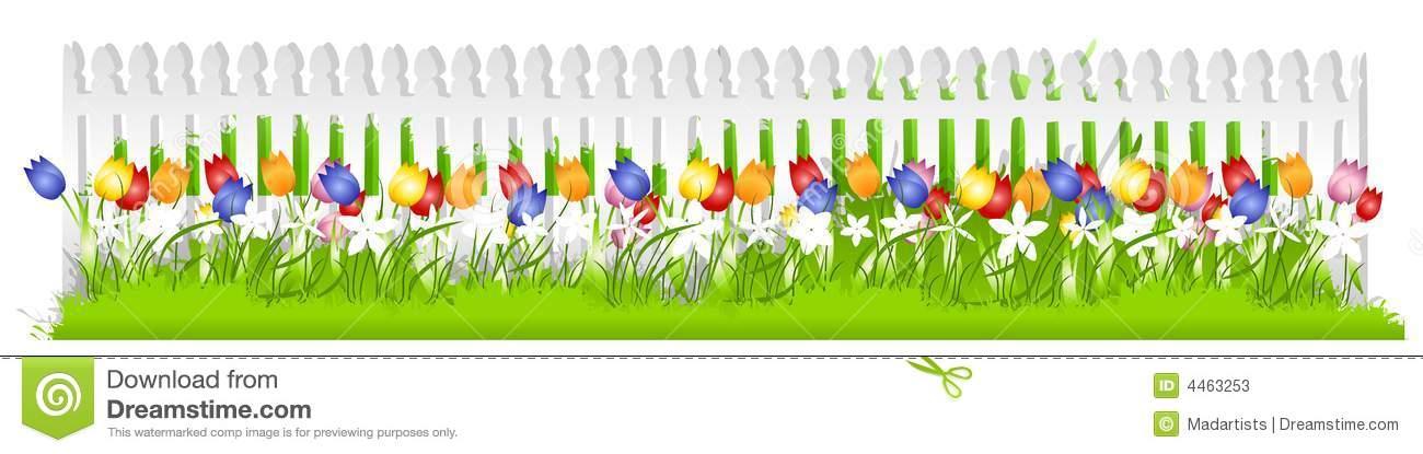 Garden row clipart vector Garden Clip Art Borders – Clipart Free Download vector