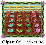 Garden row clipart vector library Garden row clipart vegetable - ClipartFest vector library