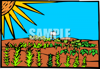 Garden row clipart picture library download Garden rows clipart - ClipartFox picture library download
