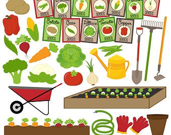 Garden row clipart banner Vegetable Garden Rows Clipart - Clipart Kid banner
