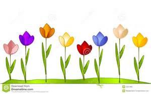 Garden row clipart svg transparent download Tulip Garden Row Of Tulips Stock Photography Image: 2257992 ... svg transparent download