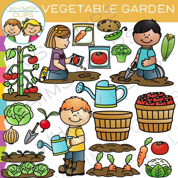Garden row clipart vegetable jpg free download Vegetable garden clipart - ClipartFest jpg free download