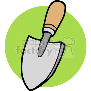 Small gardening shovel clipart. Royalty-free clipart # 379674 jpg freeuse stock